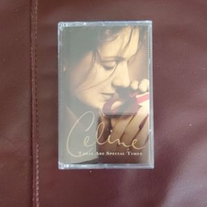 "Celine ""These Are Special Times"" Cassette Tape"